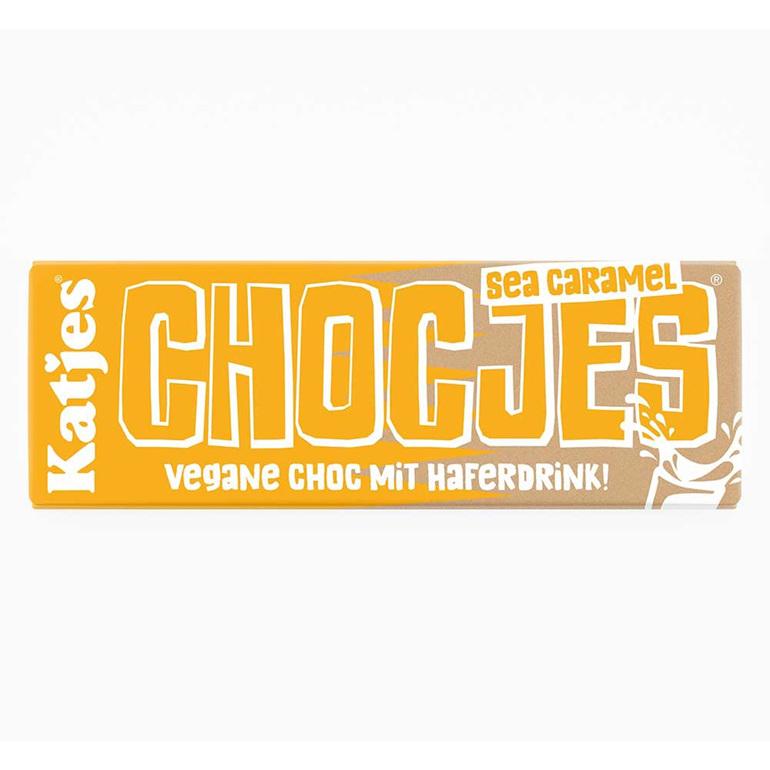 Katjes Chocjes Sea Caramel Chocolate Bar 50g