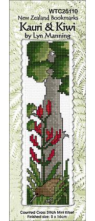 Kauri and Kiwi Bookmark Stitching Kit