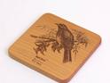 kauri bell bird coaster