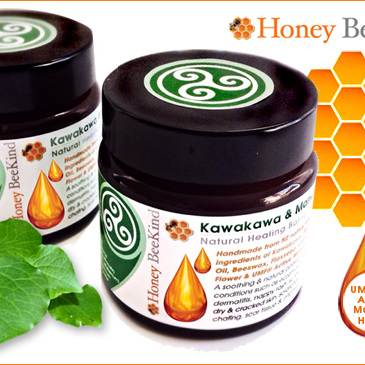Kawakawa and Manuka Honey Healing Balm for People