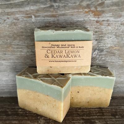 Kawakawa Cedar & Lemon