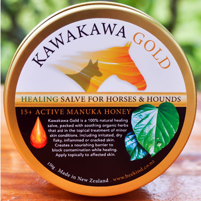 Kawakawa Gold Healing Salve with  Active 15+ Manuka Honey