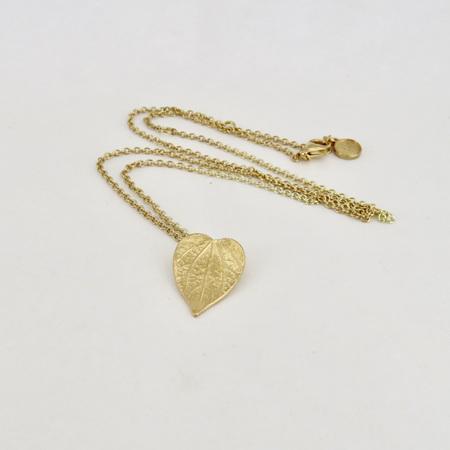 Kawakawa Necklace - Gold Plate