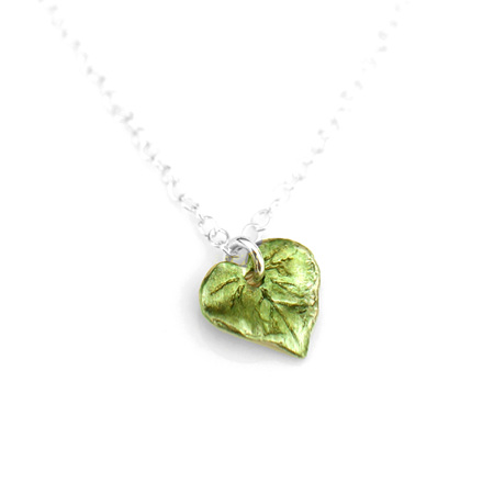 Kawakawa Single Leaf Necklace