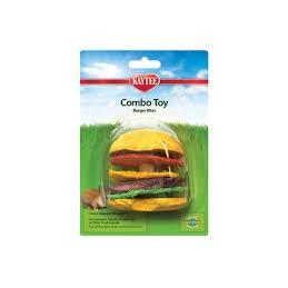 Kaytee Combo Chews Crispy & Wood Hamburger