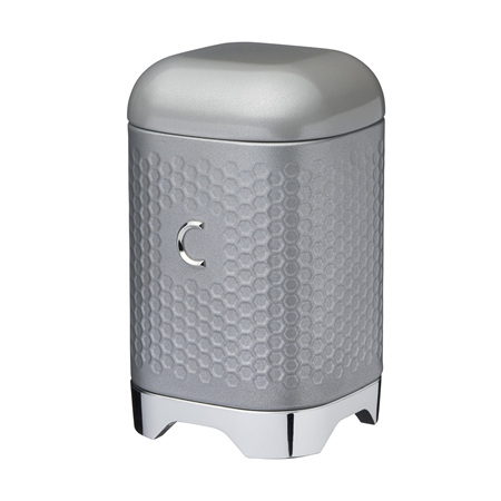 KC Lovello Coffee Canister GREY