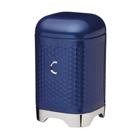 KC Lovello Coffee Canister NAVY