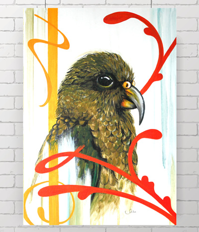 kea - the original painting