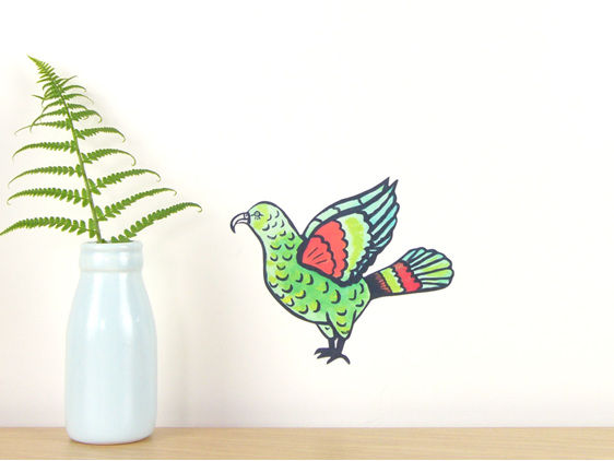 Kea wall decal