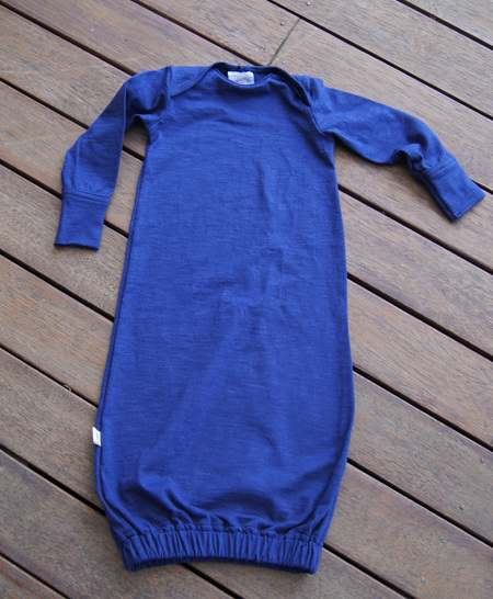 'Keegan' Sleepsack, 'Patriot Blue' 100% Cotton Knit, 3-6 mths
