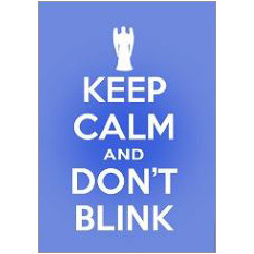 Keep Calm Blink Fridge Magnet