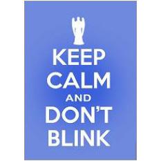 Keep Calm Blink Fridge Magnet