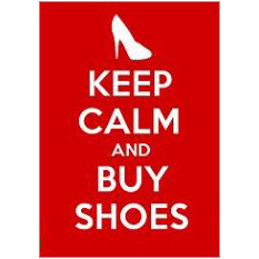 Keep Calm Shoes Fridge Magnet