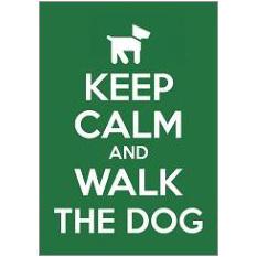 Keep Calm Dog Fridge Magnet