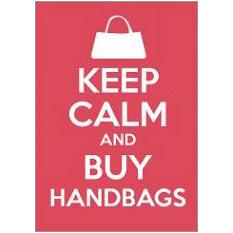 Keep Calm Handbags Fridge Magnet