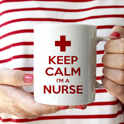 Keep Calm Nurse Mug