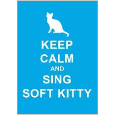 Keep Calm Kitty Fridge Magnet