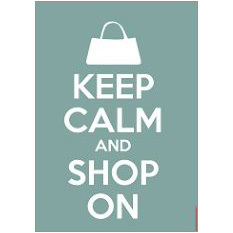 Keep Calm Shop Fridge Magnet