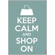 Keep Calm Shop Fridge Magnet