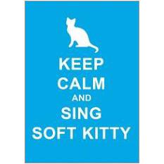Keep Calm Kitty Fridge Magnet