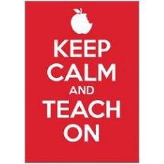 Keep Calm Teach Fridge Magnet