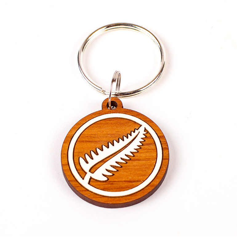 keeper key ring - fern