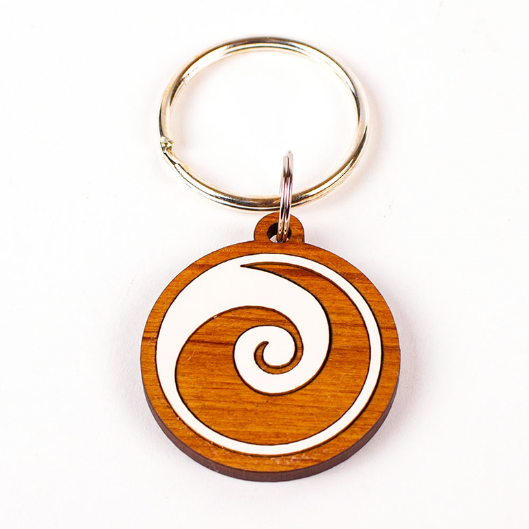 keeper key ring - koru