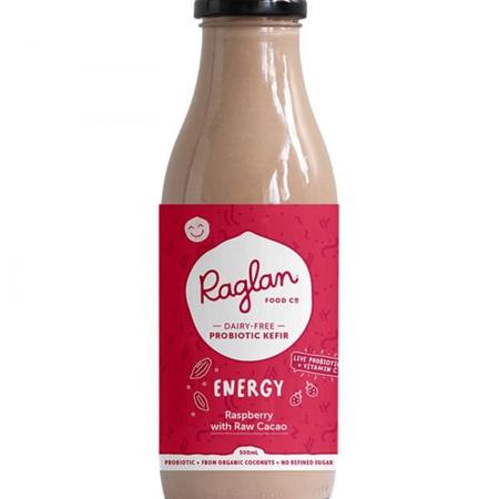 Kefir - Energy - Raspberry with Raw Cacao