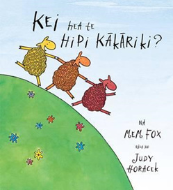 Kei Hea te Hipi Kakariki?: Where is the Green Sheep?