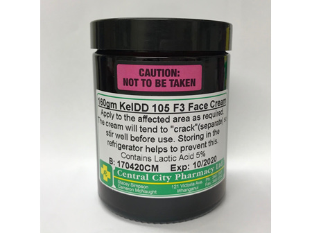 KelDD 105 F3 Face cream 160g