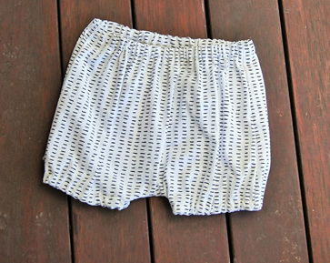 'Kensley' Bloomers, 'Dash', 100% Cotton, 3-6m