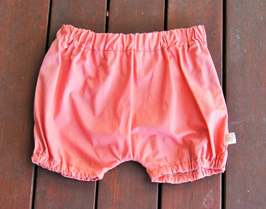 'Kensley' Bloomers, 'Rose' GOTS Organic Cotton, 1 year