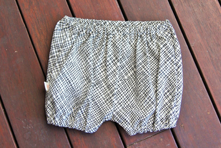 'Kensley' Bloomers, 'Thicket White' 100% Cotton, 0-3m
