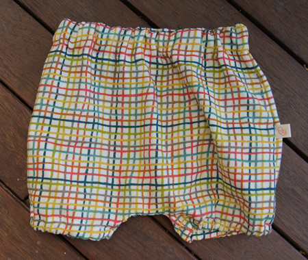 'Kensley' Bloomers, 'Woven' 100% GOTS Organic Cotton, 6-9 months