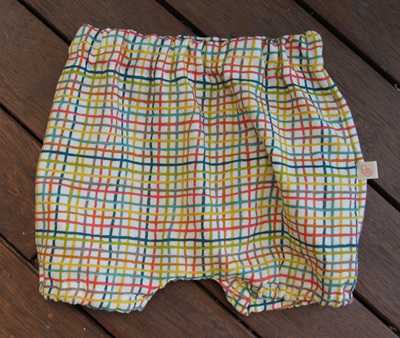 """Kensley"" Bloomers, 'Woven' GOTS Organic Cotton Double Gauze"