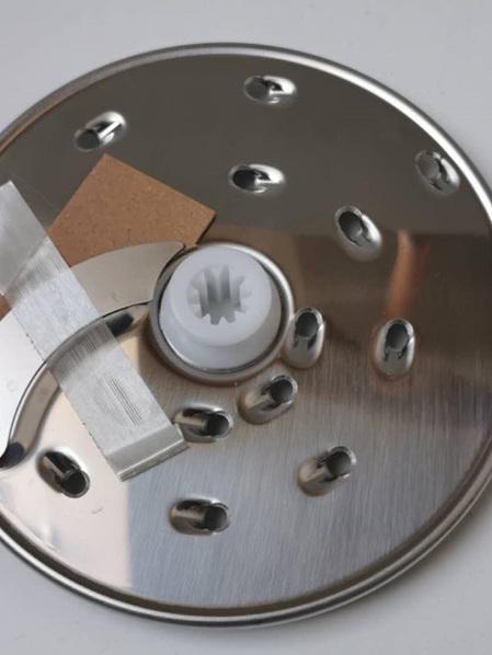 Kenwood Food Processor FP250 Coarse Slicer/Shredder Plate - 1mm Thick KW710829