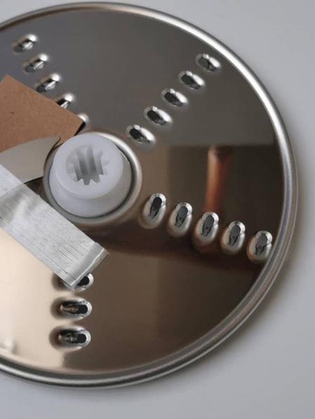Kenwood Food Processor FP250 Fine Slicer/Shredder Plate - 1mm Thick KW710830
