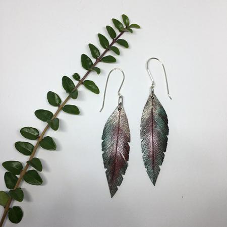 Kereru Earrings - small size