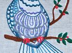 Kereru embroidery emailed pdf pattern