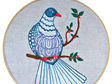 kereru embroidery pattern