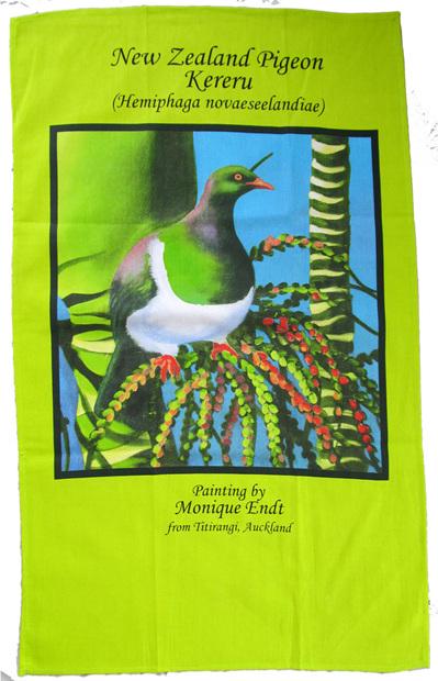 Kereru tea towel