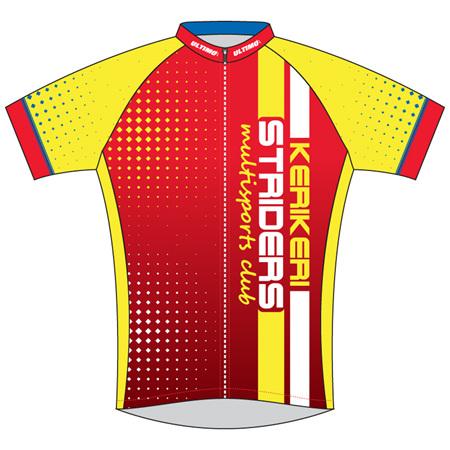 Kerikeri Striders Cycle Jersey