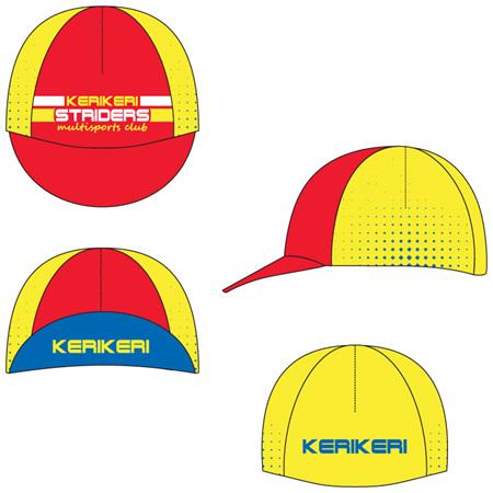Kerikeri Striders Cycling Cap