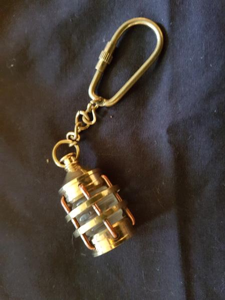 Key Ring 17 - Ship's Lantern