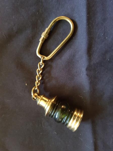 Key Ring 8 - Green Starboard Lantern
