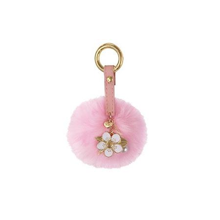 Key Ring PomPom Manuka Flower