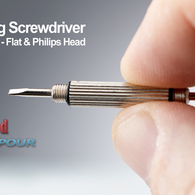 Keyring Screwdriver - Flat & Philips Head
