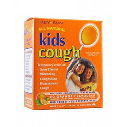 Keysun Kids Cough Lollipops 10 - Orange
