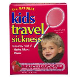 Keysun Kids Travle Sickness Lollipops 10 - Strawberry
