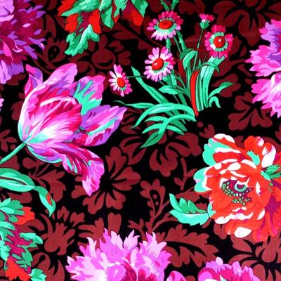 KF Collective - Baroque Floral Black